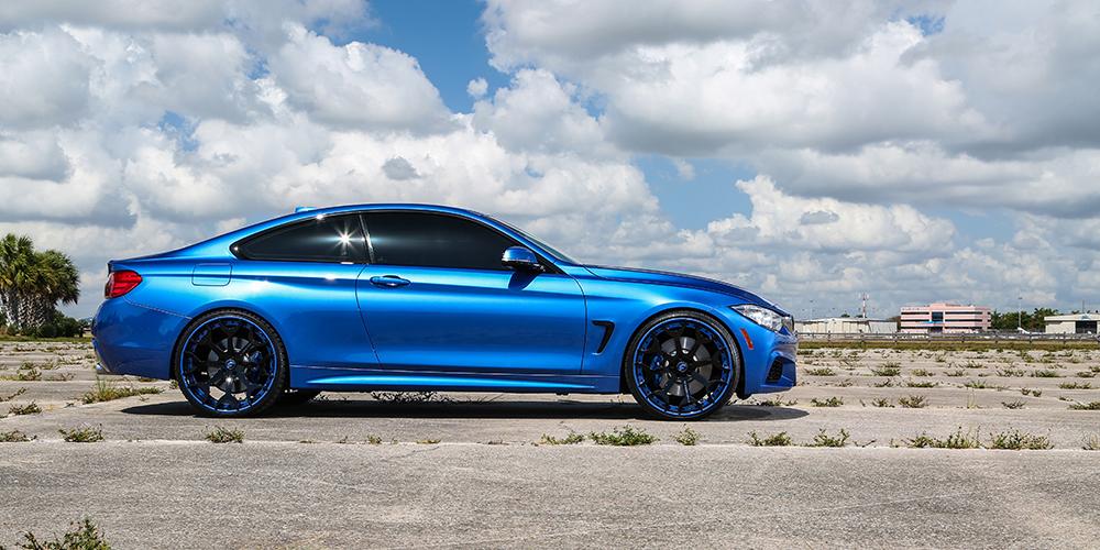 4 Series Blue Bmw Car Gallery Forgiato