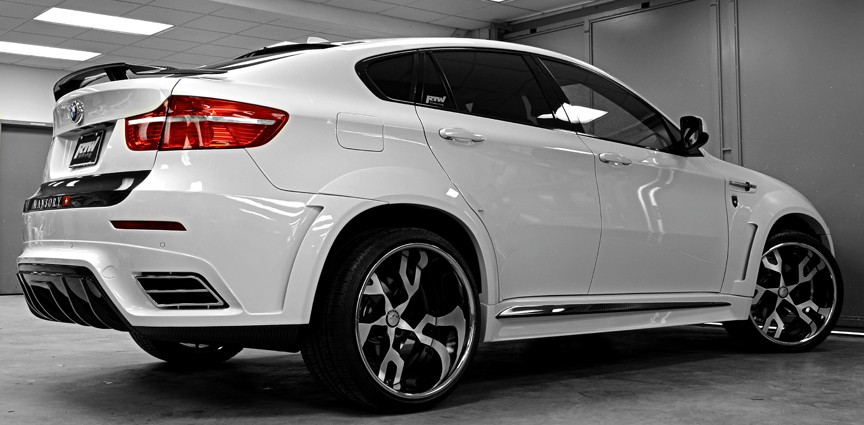 Bmw White X6 Series Car Gallery Forgiato
