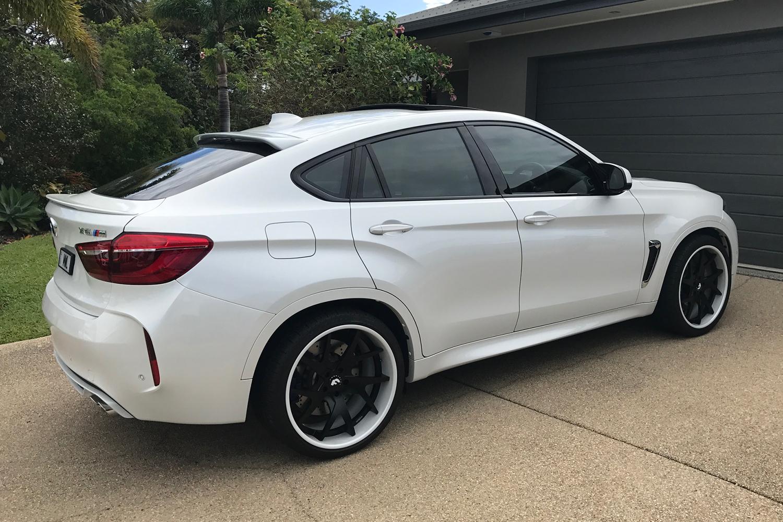 2017 Bmw X6 M 300 2017 Bmw X6 White